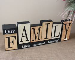 personalized family gift idea for christmas decorative wooden