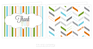 free thank you cards free printable company