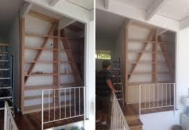 the built in bookcase design emily henderson