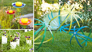 Recycled Garden Decor How To Recycle Garden Decorations Of Recycled Old Chairs And