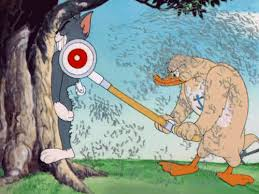 Tom And Jerry Meme - muscle duck mows tom s back on tom and jerry gif