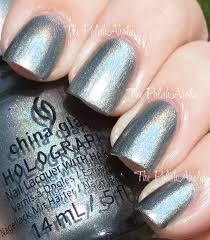 the polishaholic china glaze hologlam collection swatches