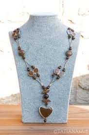 designer modeschmuck tatianasart opulente collier designer halskette handmade