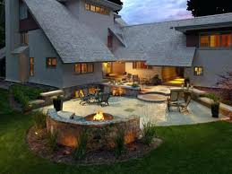 Backyard Fire Pits Ideas by Built In Outdoor Fire Pit Designs Built In Fire Pits Designs Built
