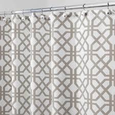 Interdesign Bathroom Accessories by Interdesign Trellis Fabric Shower Curtain Walmart Com