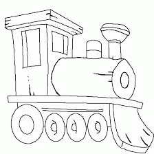 locomotive steam train coloring cars vehicles coloring print