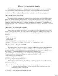 resume exle for college student exle of a cover letter for student sle resume recent college