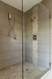 bathroom pebble tiles for create an even surface threestems com