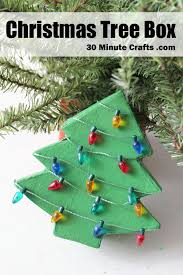 christmas tree box 30 minute crafts