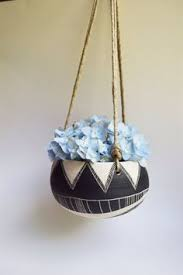 Hanging Ceramic Planter by Hanging Pot Planter Pinch Me Ceramics Garden State Pinterest
