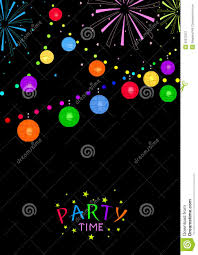 party time stock vector image 55075527