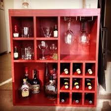 Building A Liquor Cabinet Cheap Bookcase Into Liquor Cabinet Home Ideas Pinterest