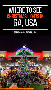 5 best christmas light displays in georgia georgia usa winter