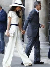 Armani Wedding Dresses Amal Alamuddin Wedding Dress Bride Wore Oscar De La Renta And The