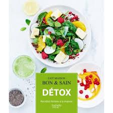 livre de cuisine hachette detox
