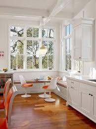 banquette cuisine moderne cuisine la chaise tulipe une icã ne emblã matique du design