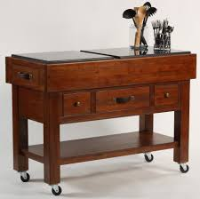 serving table w casters by hillsdale wolf and gardiner wolf