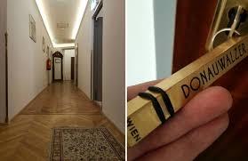 boutique hotel donauwalzer hallway orginal flooring roomkey jpg
