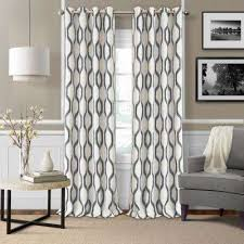 Gray And Teal Curtains Gray Grommet Curtains Drapes Window Treatments The Home