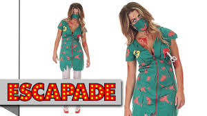 zombie scrub nurse costume halloween fancy dress costume ideas