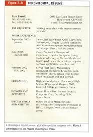 Sample Of Resume For Teachers Sample Chronological Resume Career Development Teaching Ideas