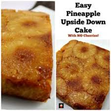 skinny pineapple upside down cake recipe pineapple upside