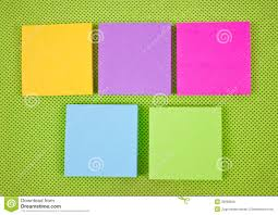 sticky notes wallpaper stock vector image 54471686