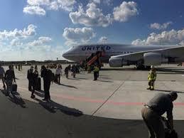 bomb threat forces united flight to return to frankfurt airport