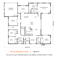 Floor Plans With Inlaw Apartment U Shaped House I Would Convert The Theater Room For The Gunroom
