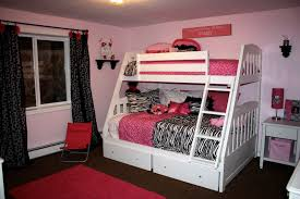 jolly girls bedroom in pink bedroom decoration using light