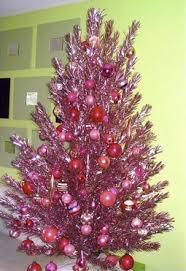 innovative ideas aluminium christmas tree vintage aluminum with