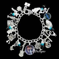 themed charm bracelet riverdale themed charm bracelet