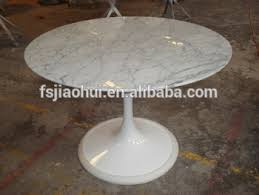 replica eero saarinen tulip table round marble dining table for
