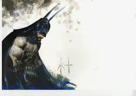 trout a verse batman sketch u0026 old maxx art