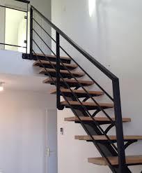 limon d escalier en bois escaliers métalliques garde corps métal à joué lès tours