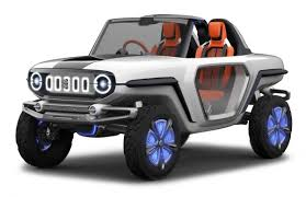 jeep concept cars this retro inspired electric suzuki channels all the fun