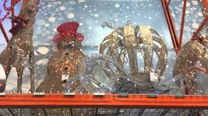 Home Depot Outdoor Christmas Decorations by Home Depot Christmas Decor 2015 Youtube