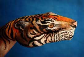 hand painting 21 unbelievably vivid and creative animal paintings