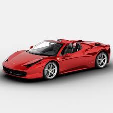 Ferrari 458 Italia Spider - ferrari 458 spider 3d models for download turbosquid