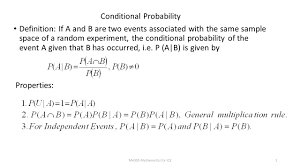 Probability Independent Events Worksheet Ma305 Conditional Probability Bayes U0027 Theorem Ppt Video Online