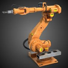 3d industrial robot arm 1 model machines pinterest