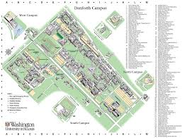 Missouri State Campus Map by Washington University In St Louis Maplets