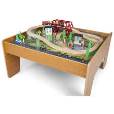 wooden train table with drawers chest of drawers