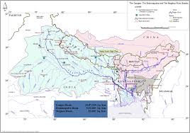 Asia Rivers Map by Basin Map