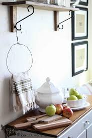 fox home decor diy primitive kitchen towel holder fox hollow cottage
