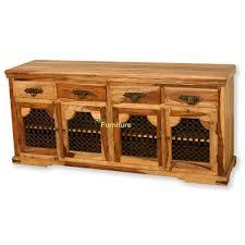 jali 3 door sheesham sideboard sheesham furniture furniture tns furniture jali sheesham furniture