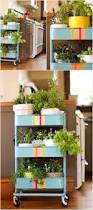 ikea cart herb garden this i could do useful pinterest