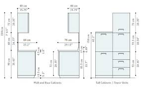 kitchen cabinet doors standard sizes base cabinets door chart with