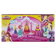 amazon com play doh disney princess design a dress ballroom toys
