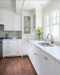 How To Clean White Kitchen Cabinets 50 Stylish White Kitchen Cabinets Decor Ideas Kitchen Cabinets